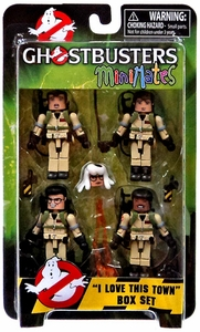 Ghostbusters Minimates Box Set I Love This Town  New!