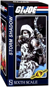 GI Joe 1/6 Sideshow Collectible Figure Storm Shadow New!