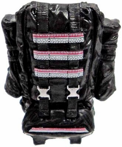 GI Joe 3 3/4 Inch LOOSE Action Figure Accessory Black Deluxe Opening Backpack