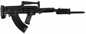 GI Joe 3 3/4 Inch LOOSE Action Figure Accessory Black FAMAS Submachine Gun