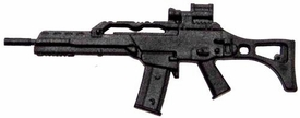 GI Joe 3 3/4 Inch LOOSE Action Figure Accessory Black G36C Rifle