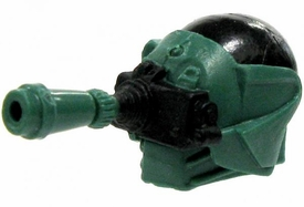 GI Joe 3 3/4 Inch LOOSE Action Figure Accessory Black & Green 2-Part Night Vision Helmet