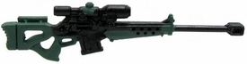 GI Joe 3 3/4 Inch LOOSE Action Figure Accessory Black & Green 50 Cal. Sniper Rifle