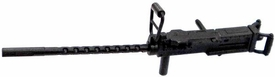GI Joe 3 3/4 Inch LOOSE Action Figure Accessory Black M2 Browning Machine Gun with Handgrip