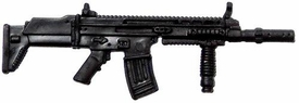 GI Joe 3 3/4 Inch LOOSE Action Figure Accessory Black SCAR Rifle