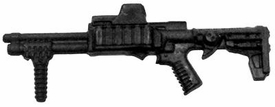 GI Joe 3 3/4 Inch LOOSE Action Figure Accessory Black Tactical Shotgun