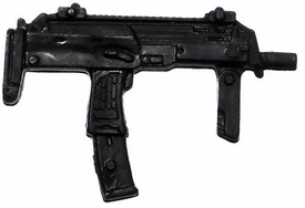 GI Joe 3 3/4 Inch LOOSE Action Figure Accessory Black Uzi with Fore Grip