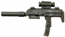 GI Joe 3 3/4 Inch LOOSE Action Figure Accessory Gray Silenced Uzi