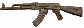 GI Joe 3 3/4 Inch LOOSE Action Figure Accessory Olive Green AK-47 Assault Rifle
