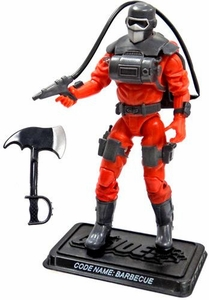 GI Joe 3 3/4 Inch LOOSE Action Figure Barbecue [Version 4]