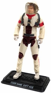 GI Joe 3 3/4 Inch LOOSE Action Figure Capt. Ace [Version 1]