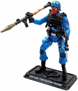 GI Joe 3 3/4 Inch LOOSE Action Figure Cobra Bazooka Trooper