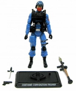 GI Joe 3 3/4 Inch LOOSE Action Figure Cobra Bazooka Trooper [Version 1]