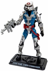 GI Joe 3 3/4 Inch LOOSE Action Figure Cobra Commander in Battle Armor [Version 28]