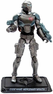 GI Joe 3 3/4 Inch LOOSE Action Figure Cobra Mercenary Wraith