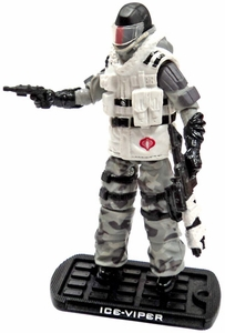 GI Joe 3 3/4 Inch LOOSE Action Figure Cobra Ice Viper [Version 3]