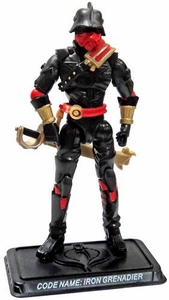 GI Joe 3 3/4 Inch LOOSE Action Figure Cobra Iron Grenadier Elite Trooper [Version 6]