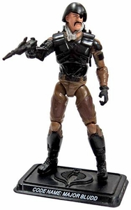 GI Joe 3 3/4 Inch LOOSE Action Figure  Major Bludd [Version 8]