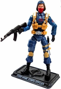 GI Joe 3 3/4 Inch LOOSE Action Figure Cobra Officer [Version 6]