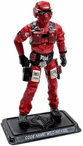 GI Joe 3 3/4 Inch LOOSE Action Figure Wild Weasel  [Version 6]