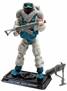 GI Joe 3 3/4 Inch LOOSE Action Figure Cobra Snow Serpent