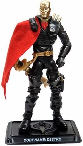 GI Joe 3 3/4 Inch LOOSE Action Figure Destro as Iron Grenadier Leader [Version 16]