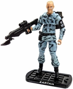 GI Joe 3 3/4 Inch LOOSE Action Figure Dreadnok Leader Zartan [Version 17]