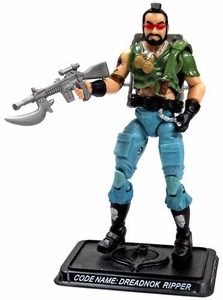 GI Joe 3 3/4 Inch LOOSE Action Figure Dreadnok Ripper [Version 6]