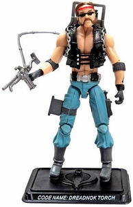 GI Joe 3 3/4 Inch LOOSE Action Figure Dreadnok Torch [Version 3]