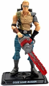 GI Joe 3 3/4 Inch LOOSE Action Figure Drednok  Buzzer [Version 4]