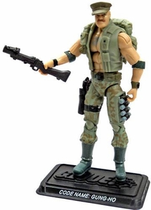 GI Joe 3 3/4 Inch LOOSE Action Figure Gung-Ho [Version 18]