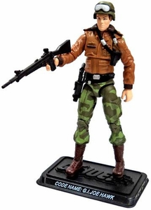 GI Joe 3 3/4 Inch LOOSE Action Figure Hawk [Version 4]