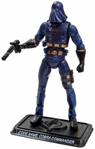 GI Joe 3 3/4 Inch LOOSE Action Figure Hooded Cobra Commander  [Version 25]