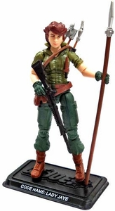 GI Joe 3 3/4 Inch LOOSE Action Figure Lady Jaye [Version 8]