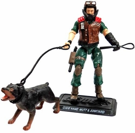 GI Joe 3 3/4 Inch LOOSE Action Figure Mutt & Junkyard [Version 7]