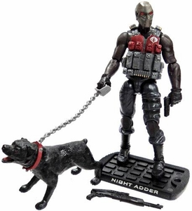 GI Joe 3 3/4 Inch LOOSE Action Figure Night Adder [Version 1]