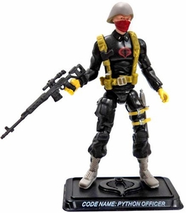 GI Joe 3 3/4 Inch LOOSE Action Figure Python Patrol Officer [Version 2]