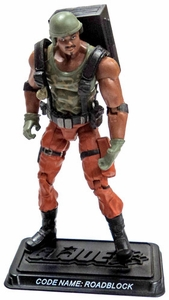 GI Joe 3 3/4 Inch LOOSE Action Figure Roadblock [Version 16]