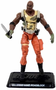 GI Joe 3 3/4 Inch LOOSE Action Figure Roadblock [Version 18]