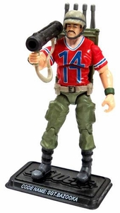 GI Joe 3 3/4 Inch LOOSE Action Figure Sgt. Bazooka [Version 3]