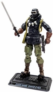 GI Joe 3 3/4 Inch LOOSE Action Figure Snake Eyes [Version 35]