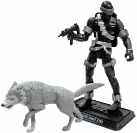 GI Joe 3 3/4 Inch LOOSE Action Figure Snake Eyes [Version 40]