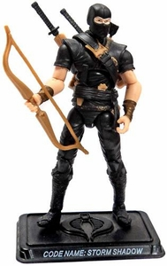 GI Joe 3 3/4 Inch LOOSE Action Figure Storm Shadow  [Version 27]