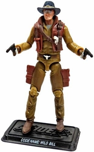 GI Joe 3 3/4 Inch LOOSE Action Figure Wild Bill [Version 11]
