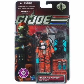 GI Joe 30th Anniversary 3 3/4 Inch Action Figure Hazard Viper [Toxin Specialist]