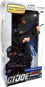 GI Joe Real American Hero 12 Inch Action Figure Navy Special Ops