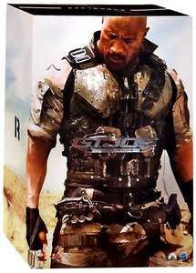 GI Joe Retaliation Hot Toys Movie Masterpiece 12 Inch Figure Roadblock New!