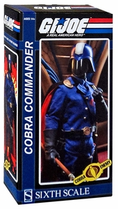 GI Joe Sideshow Collectibles 1/6 Collectible Figure Cobra Commander [The Dictator] New!
