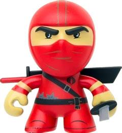 GI Joe Loyal Subjects 3 Inch Vinyl Figure Red Ninja