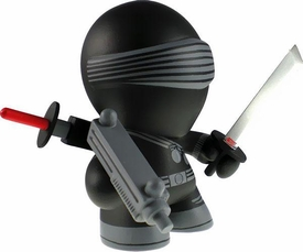 GI Joe Loyal Subjects 3 Inch Vinyl Figure Snake Eyes
